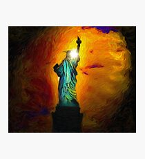 The Other Side of Liberty Photographic Print