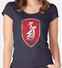 Distressed classic Zündapp emblem Women's Fitted Scoop T-Shirt