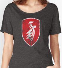 Distressed classic Zündapp emblem Women's Relaxed Fit T-Shirt