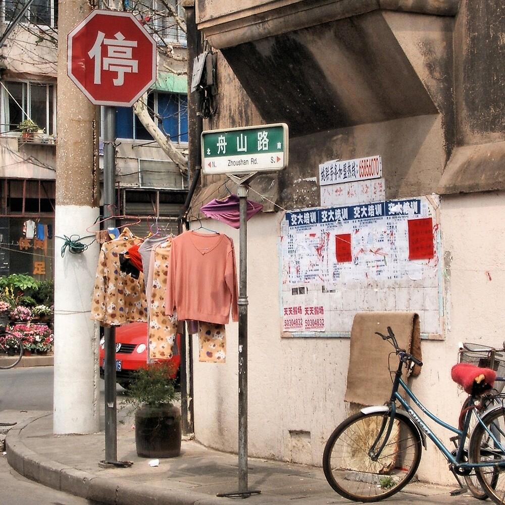 On the Streets of Shanghai by Deborah Downes