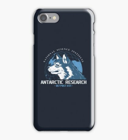 Outpost #31 iPhone Case/Skin
