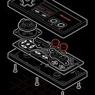 Blueprint Famicom by mannypdesign