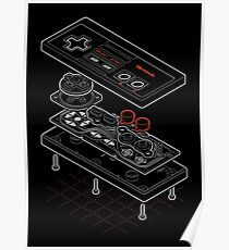 Blueprint Famicom Poster