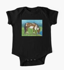 Pinto Mustang Horse Cathy Peek Animal Kids Clothes
