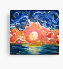 Feel the Motion Canvas Print