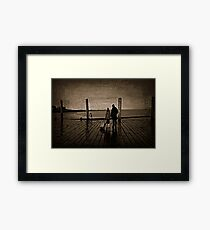 Ride Waiting Framed Print