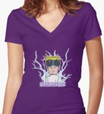 Dr. Horrible Ain't Lookin So Horrible Women's Fitted V-Neck T-Shirt