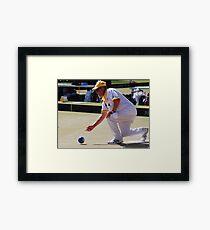 M.B.A. Bowler no. a255 Framed Print