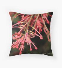 macro flora 022 Throw Pillow