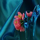BLUE SATIN AND PINK... by RoseMarie747