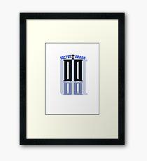 Doctor-Donna Framed Print