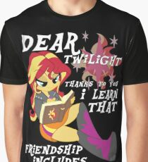 "Friend ""ship"" is magic! Graphic T-Shirt"
