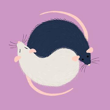 Ratty Love - Ying Yang by sydneynewman
