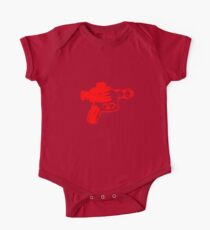 Alien Ray Gun - Red One Piece - Short Sleeve