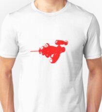 Alien Ray Gun - Red T-Shirt