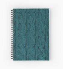 Knit Spiral Notebook