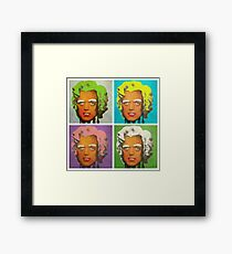 Oompa Loompa set of 4 Framed Print