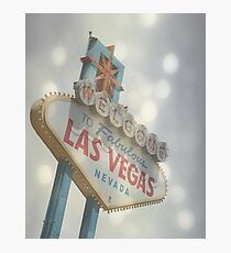Welcome to Fabulous Las Vegas Photographic Print
