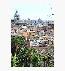 Roma panorama Photographic Print