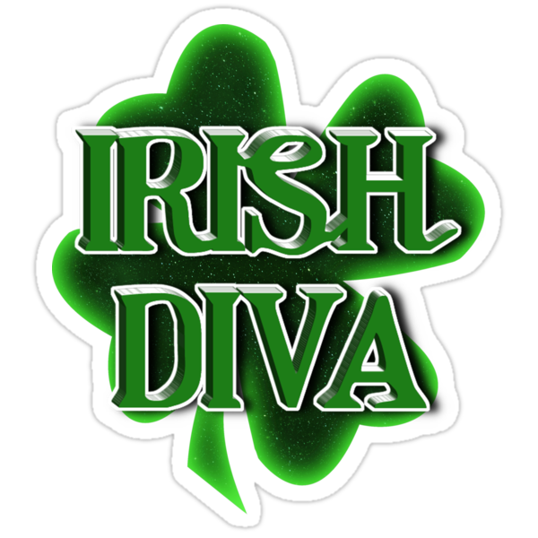Irish Diva - St Patrick's Day Shamrock by Gravityx9
