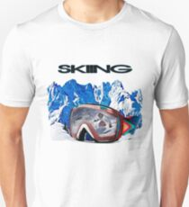 Vintage Snow Skiing gifts T-Shirt