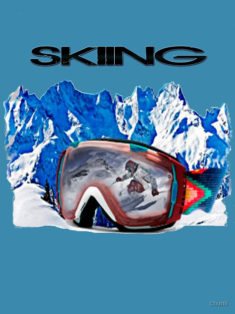 Vintage Snow Skiing gifts by chumi