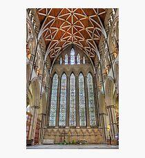 York Minster North Transept Photographic Print