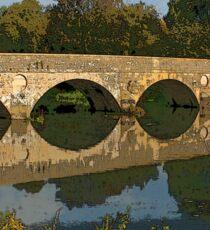 Old Bridge, Iford Sticker