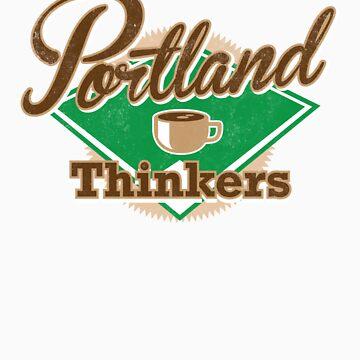 Portland Thinkers by alexsantalo