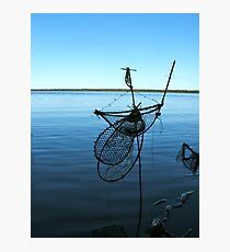 Ghost Net Boat Photographic Print