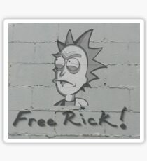 Rick and Morty-- Free Rick  Sticker