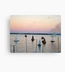 Sunset Kilns Canvas Print