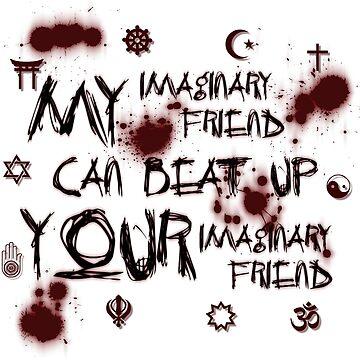Imaginary Friend Wars by flatfrog00
