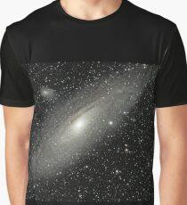 M31 Andromeda Galaxy Graphic T-Shirt