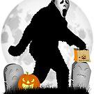 Halloween Gone Squatchin' by Gravityx9