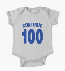 Team shirt - 100 Continue, blue letters One Piece - Short Sleeve