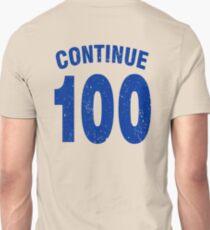 Team shirt - 100 Continue, blue letters Unisex T-Shirt
