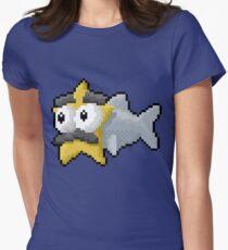 Starfishmanfish pixel tee Womens Fitted T-Shirt