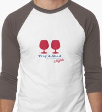 Troy & Abed in the morning NIGHTS... Men's Baseball ¾ T-Shirt