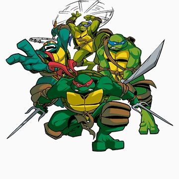 Ninja Turtles by BullDesigns