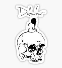 Debts Sticker
