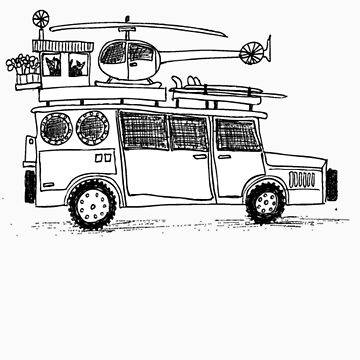Car sketch by BullDesigns
