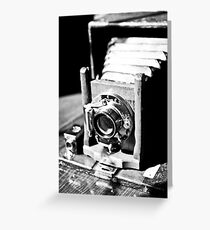 Old Camera Love Greeting Card