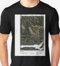 USGS Topo Map Washington State WA Rimrock Lake 20110506 TM Unisex T-Shirt