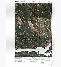 USGS Topo Map Washington State WA Rimrock Lake 20110506 TM Poster