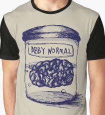 Abby Normal Grafik T-Shirt
