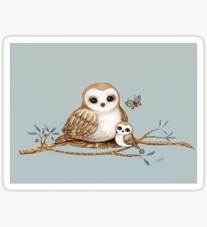 Baby Barn Owl Sticker