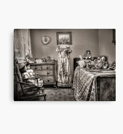 The Governess's Room ~ sepia Canvas Print