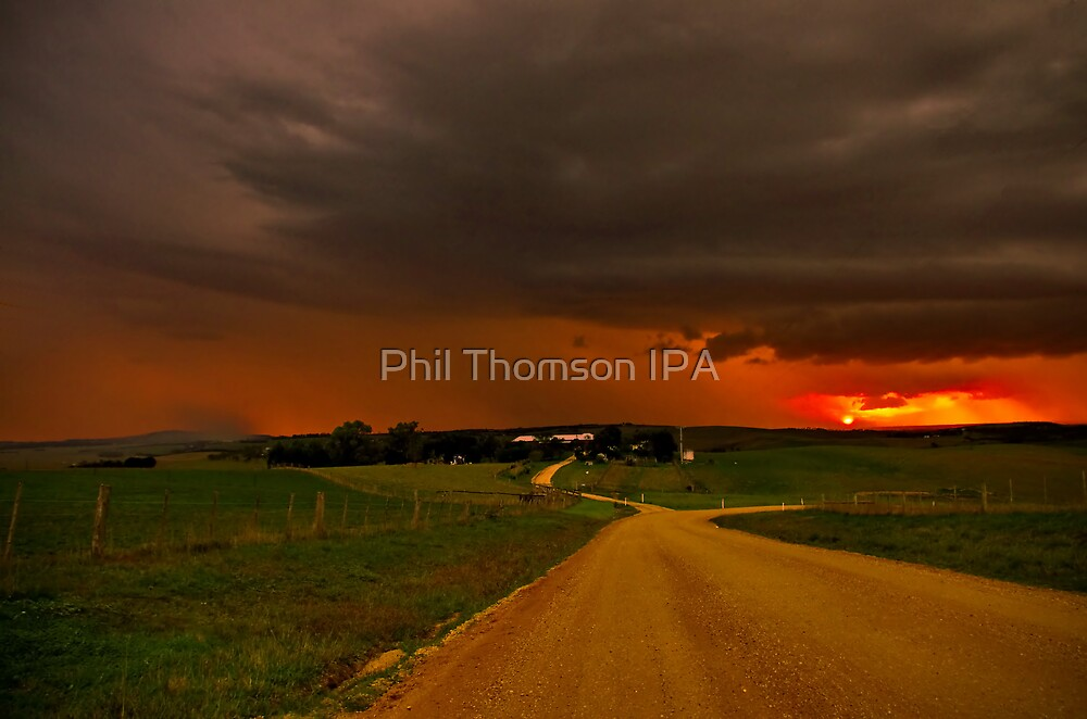 """Thunderstorms Around Sundown"" by Phil Thomson IPA"