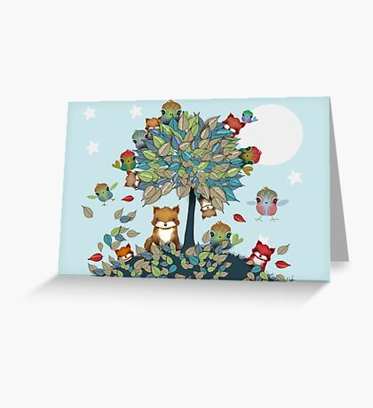 The Friendship Tree Greeting Card
